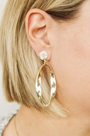 Glitzy Girlz Boutique The Stand-Out Earrings, Gold