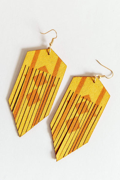 Glitzy Girlz Boutique Tribal Flair Earrings