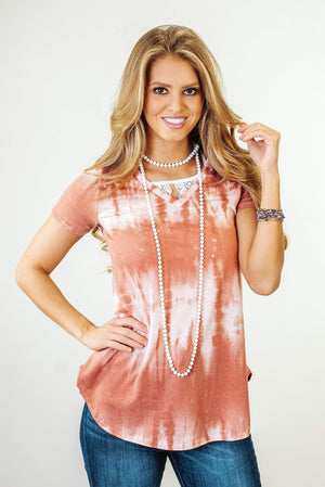 Glitzy Girlz Boutique What's The Truth Top, Mauve