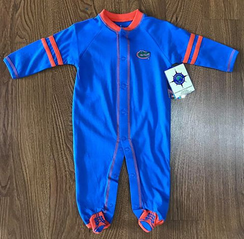 Gators Footed Romper