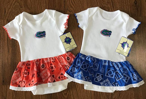 Gators Bandana Bodysuit Dress