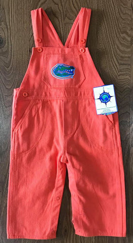 Gators Denim Overalls