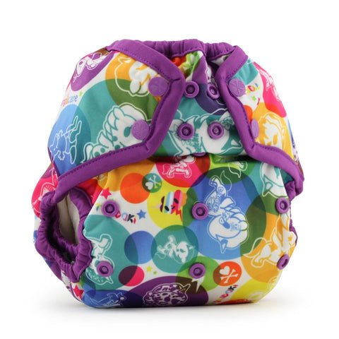 Rumparooz One Size Cloth Diaper Covers - Young Vogue - 2