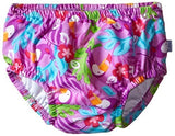 Mix & Match Ruffle Snap Reusable Swimsuit Diaper - Young Vogue - 2