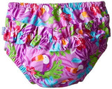 Mix & Match Ruffle Snap Reusable Swimsuit Diaper - Young Vogue - 3