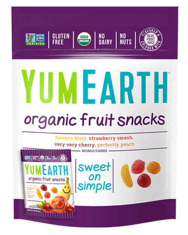 YumEarth Organic Gluten Free Fruit Snacks