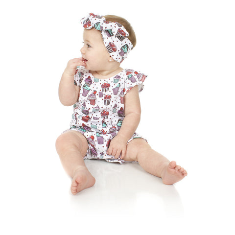 JuDanzy Sweet Shop Bubble Romper - Young Vogue - 1