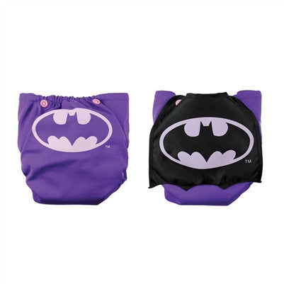 Bumkins DC Comics Snap-In-One Cloth Diaper with Cape - Young Vogue - 3