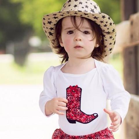 Rufflebutts Bailey Bandana Bodysuit and Bloomers