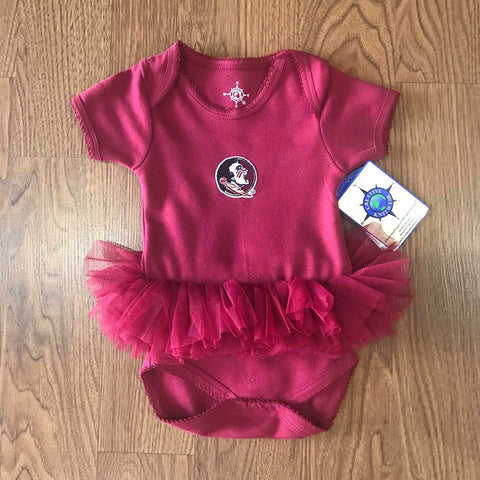 Seminoles Bodysuit with Tutu