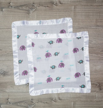 Lulujo Muslin Security Blanket
