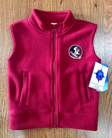 Seminoles Polar Fleece Vest