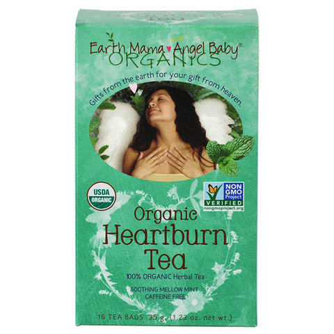 Earth Mama Angel Baby Organic Heartburn Tea - Young Vogue