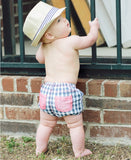 Ruggedbutts Navy Gingham Bloomer