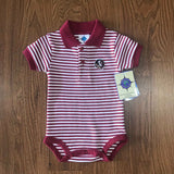 Seminoles Striped Bodysuit