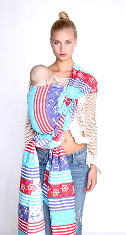 kokadi baby wrap AHOI, 100% organic cotton - Young Vogue