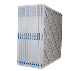 24x24x1 Furnace Filter MERV 8 Pleated Filters. Case of 12