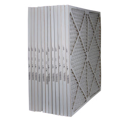 25x25x1 Furnace Filter MERV 8 Pleated Filters. Case of 12