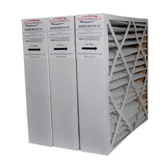 "Lennox X0585 MERV 10 20x20x5 Healthy Climate Model # HCF14-11. Actual Size 20"" x 19 3/4"" x 4 3/8."" Case of 3"