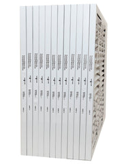 20x20x1 Furnace Filter MERV 8 Pleated Filters. Case of 12.