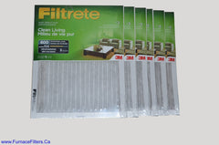 3M Filtrete 20x25x1 Furnace Filter MPR 600. Case of 6.