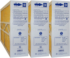 "Clean Comfort AMP-M1-1056 Furnace Filter MERV 11 Efficiency. Actual Size 15 3/8"" x 25 1/2"" x 5 1/4."" Case of 3."