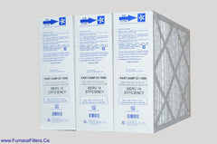 "G1-1056 Furnace Filter MERV 14. Actual Size 15 3/8"" x 25 1/2 x 5 1/4"". Case of 3"