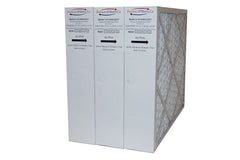 Honeywell 20x25x4 Furnace Filter Model # FC100A1037 MERV 11. Actual Size 19 15/16 x 24 7/8 x 4 3/8. Made in Canada by Furnace Filters.Ca Pkg. of 3