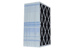 16x25x1 Furnace Filter Pleated Carbon. Case of 12.