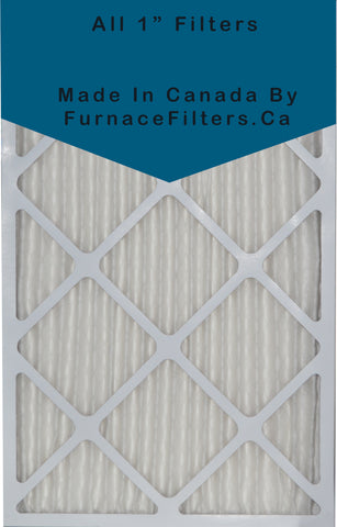28x30x1 Furnace Filter MERV 8 Pleated Filters. Case of 6.