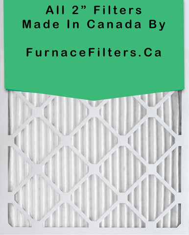 25x25x2 Furnace Filter MERV 8 Pleated Filters Case of 6.