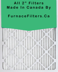 18 x 25 x 2 MERV 8 Pleated Filters. Case of 12.