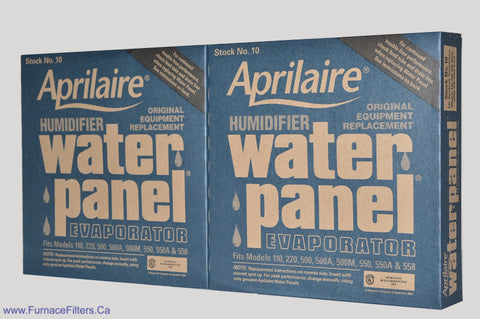 Aprilaire 10 Humidifier Water Panel, Fits Model 110, 220. Package of 2.