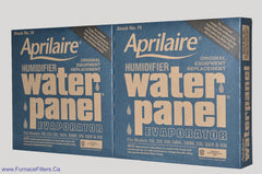 "APRILAIRE Humidifier Part No.10 Water Panel, Fits Model 110, 220. Package of 2<br> <li><strong><span style=""background-color: #ffff00;"">Pick Up at Store Price $20.00</span></strong></li>"