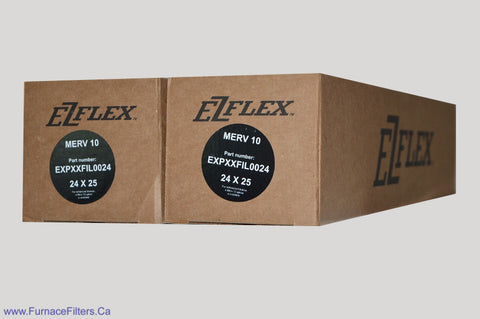 Bryant EXPXXFIL0024 Furnace Filter MERV 10. Package of 2.