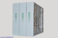 "Lennox X0586 Furnace Filter 20x25x5 Replacement MERV 13 Actual Size 20""x 24 5/8"" x 4 3/8"" Case of 3."