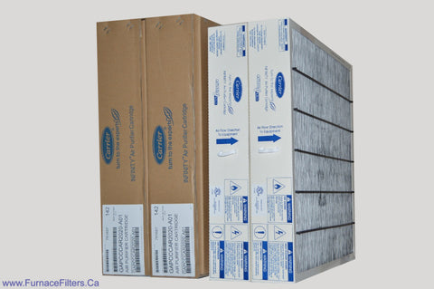 "Carrier GAPCCCAR2020 Furnace Filter Size 20-3/4"" x 21-1/2"" x 3-1/2"" Package of 2."