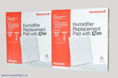 Honeywell Antimicrobial Humidifier Pad # HC22E 1003. Package of 2.