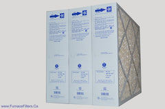 "Cinquartz M8-1056 Furnace Filter MERV 11. Actual Size 20 1/4"" x 25 3/8"" x 5 1/4."" Case of 3."