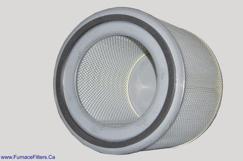Electro Air W4-0840 Certified True Hepa Filter Cylinder for Model 450 Hepa Air Cleaner