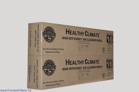 Lennox X5424 Furnace Filter Healthy Climate MERV 16 for PMAC-20C. Package of 2.