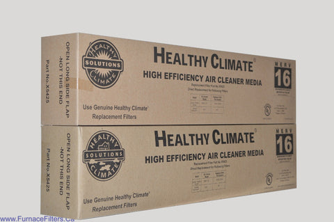 Lennox X5425 Furnace Filter Healthy Climate MERV 16 for PMAC-12C. Package of 2.