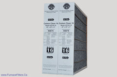 Lennox X6675 Furnace Filter 20x25x5 Healthy Climate Carbon Clean MERV 16 for Model HCF20-16. Package of 2.