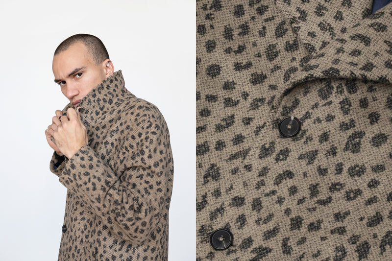 In Detail: Cheetah Wool Coat