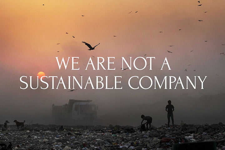 On sustainability
