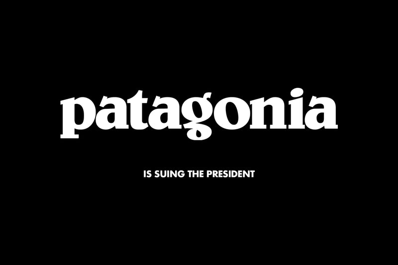 Of Note: Patagonia v. Trump