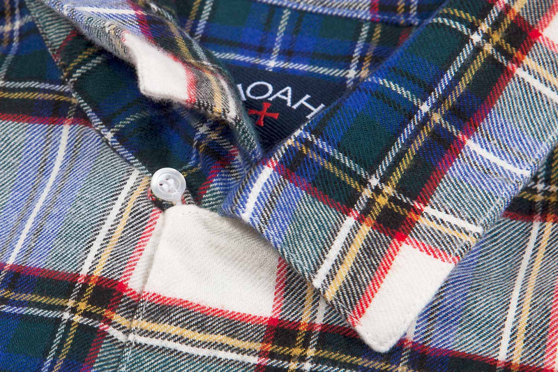 In Detail: Short Sleeve Flannel