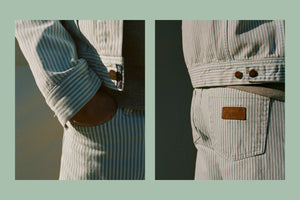 In Detail: Striped Denim