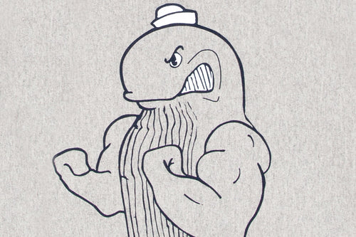 Fighting Whale Mascot