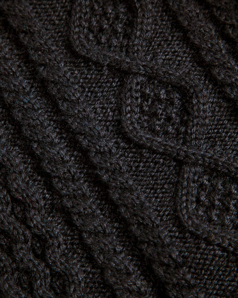 Fisherman Knit Wool swatch